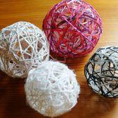 Tuto boule de laine - Mamzelle P