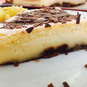 Le gâteau magique à 4 couches - giniencuisine