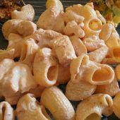 Pâtes et poulet aux épices Tandoori