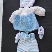 je tricote toujours pour les prémas - bienvenue chez nenette