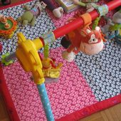 Le tapis d'éveil (2) #Tuto inside - Couture made by Maman !!!