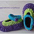 chaussons 10 - Photo de Chaussons BB - Inspirations Créatives