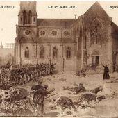 La fusillade du 1er mai 1891 à Fourmies : les origines de la fête du travail - Association Escapades Sambre-Avesnoises
