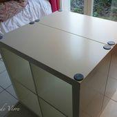 Aménager son atelier (1) : la table de découpe [Tuto inside] - Le Temps de Vivre...