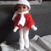 Vente de poupées à Noël - Qinoa, la sorcière Bricoleuse