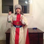 Déguisement chevalier - Le tissu et moi