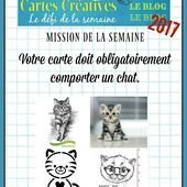 Défi n°490 du jeudi 25 mai 2017 - PASSION CARTES CREATIVES MAGAZINE