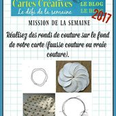 Défi n°487 du jeudi 4 mai 2017 - PASSION CARTES CREATIVES MAGAZINE