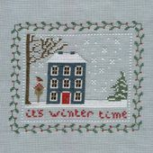 Winter cottage, mon cadeau de Nouvel-An