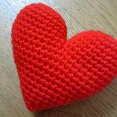 DIY Coeur au crochet -