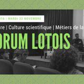 Vos (supers) retours suite à votre participation au FORUM LOTOIS de la culture | culture scientifique | métiers de la médiation