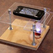 Turn Your Smartphone Into a Microscope and Macro Photography Stand for Only $10