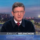 Jean-Luc Mélenchon, invité du JT week-end