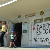Avec 36° dans les classes de maternelle, les enseignants ne veulent plus faire cours