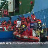L'Italie durcit le ton à l'égard des ONG secourant des migrants