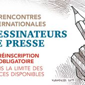 Préinscription aux 5es Rencontres Internationales des Dessinateurs de Presse