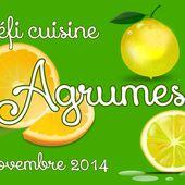 Défi Cuisine : Défi Agrumes