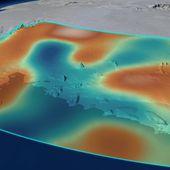 La fonte des glaces affecte la gravité terrestre