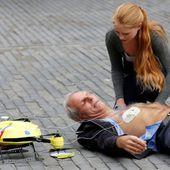 """Un """"drone ambulance"""" contre les accidents cardiaques"""