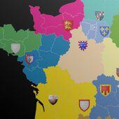AVANT/APRES. Découvrez les 13 noms des nouvelles régions de France
