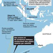 EN DIRECT : Le vol MH370 se serait écrasé dans l'Océan Indien