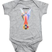 Sense Text Onesie for Sale by Michael Bellon