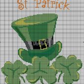 St. Patrick's Day Cross-Stitch
