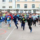Dijon : plus de mille deux cents élèves dans la course