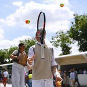 Roland-Garros : les photos que vous ne vous attendiez pas à voir