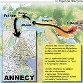 Héroïne: le trafic mafieux qui empoisonne la ville d'Annecy