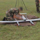 Un drone de l'armée perdu au milieu des étangs de la Dombes