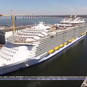 Le journal de 20h - Harmony of the Seas, plus long que la Tour Eiffel, est une véritable ville flottante
