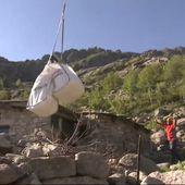 Le journal de 13h - En Corse, les bergeries se ravitaillent par hélicoptère