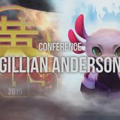 [TGS2015] Gillian ANDERSON | Video Cinéma | Wat.tv