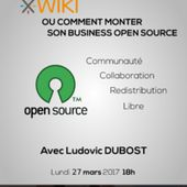 "Billetterie : Conférence ""Comment monter son business open source ?"""