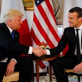 'You were my guy,' Trump told Macron, French official says