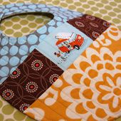 Quilted Patchwork Bib Pattern And Tutorial