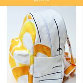 Small Backpack Pattern, for Small Budgets: Part 1 - So Sew Easy