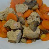 Colombo de sauté de porc : une recette cookeo |