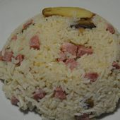 Risotto jambon weight watchers au cookeo |