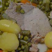 Recette cookeo: roti de porc et printanière de légumes le PDF  