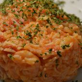 Risotto crevettes curry tomates Recette cookeo |
