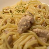 Spaghettis dinde moutarde cookeo |