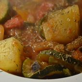 Ratatouille piment Espelette weight watchers au cookeo |