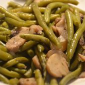 Haricots verts forestiers cookeo  