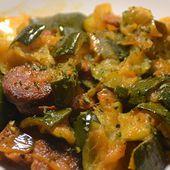 Courgettes chorizo recette cookeo  