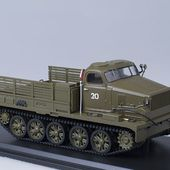 SSM3005 Soviet all terrain vehicle AT-T /khaki/ * SSM