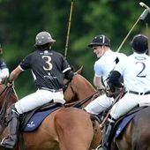Spot of polo to close US tour has Prince Harry champing at the bit