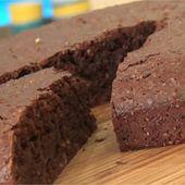 Recette - Fondant au chocolat sans gluten en vidéo
