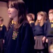 This video of a schoolgirl singing a version of Leonard Cohen's 'Hallelujah' is going viral
